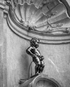 Fuente Manneken Pis, Bruselas