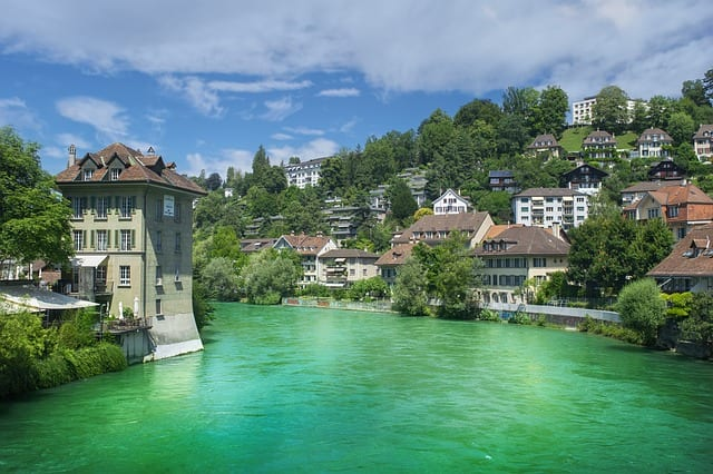River Berne, Suiza