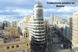 Traductor jurado en Madrid