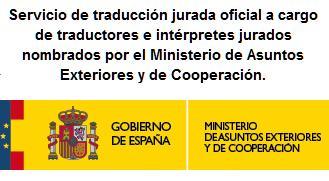 Servicio de traducción jurada oficial
